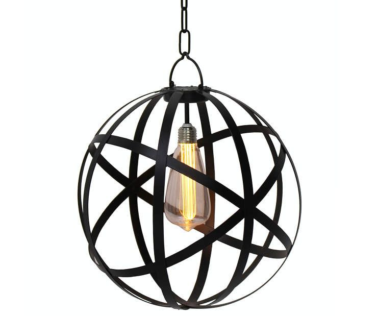 Wilson Fisher Edison Bulb Battery Operated Chandelier With
