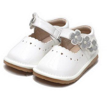 Girls shoes D.D.step silver leather flexible comfortable toddler kids