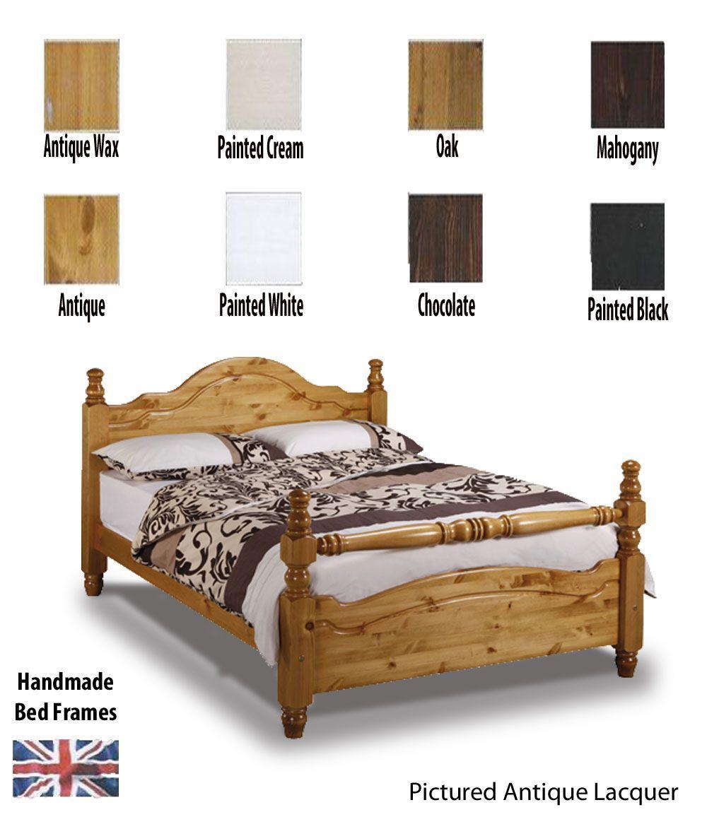 Yorkshire Rail End Handcrafted Super Kingsize Bed Frame Bed