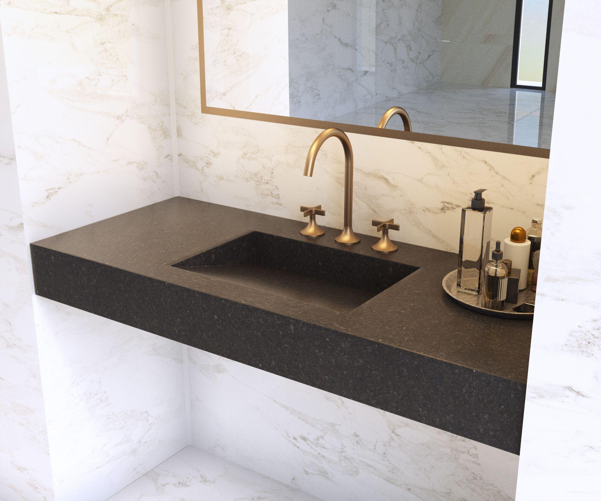 13++ Plan de travail salle de bain granit ideas