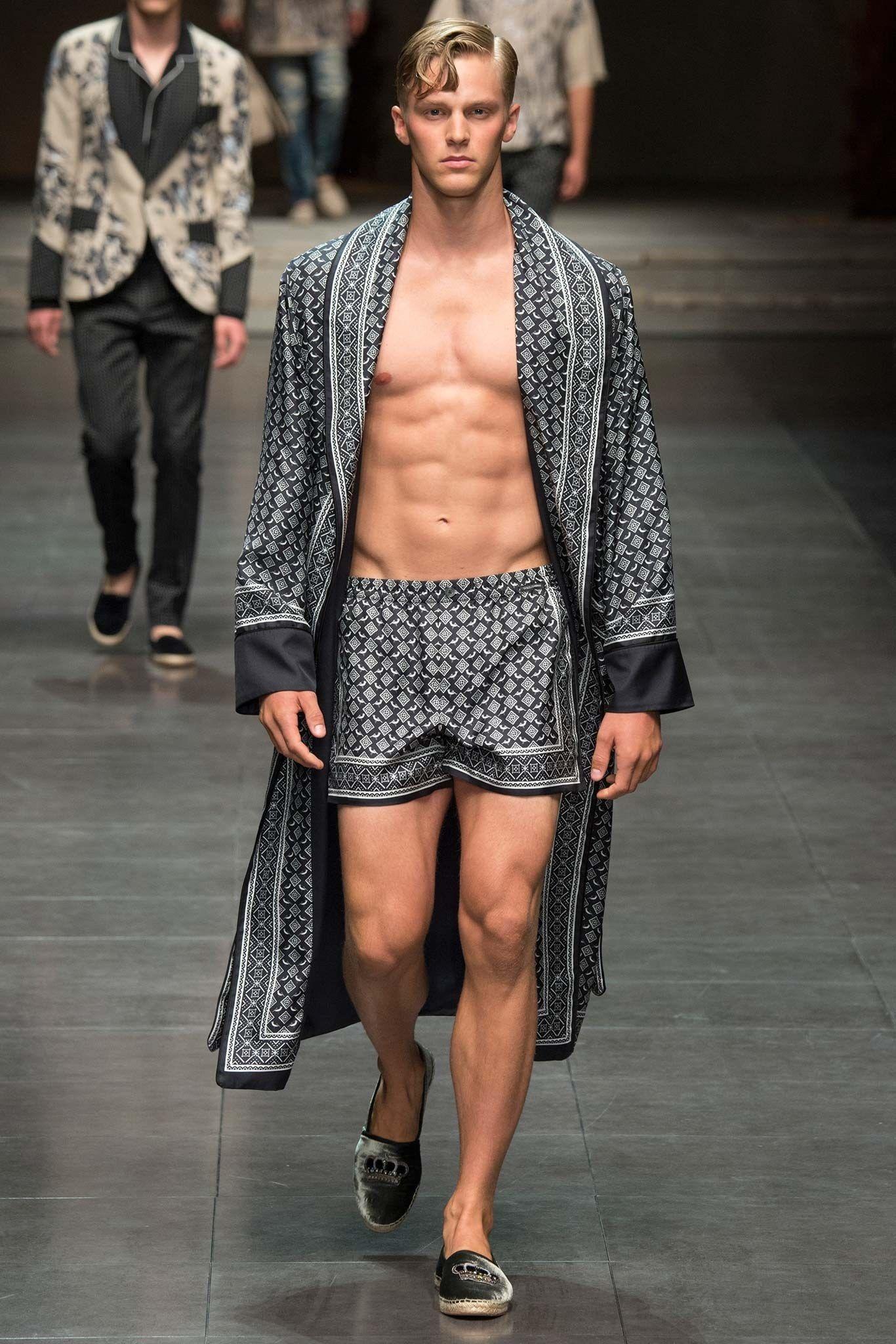 Dolce & Gabbana Défilé de mode homme printemps 2016   – Outfits