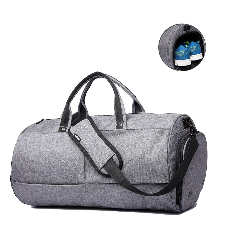 Multifunction Shoulder Bag Carryall Duffel Bag for Yoga Gym Travel Camping