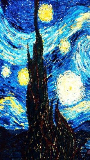 Starry Night The iPhone Wallpapers Van gogh wallpaper