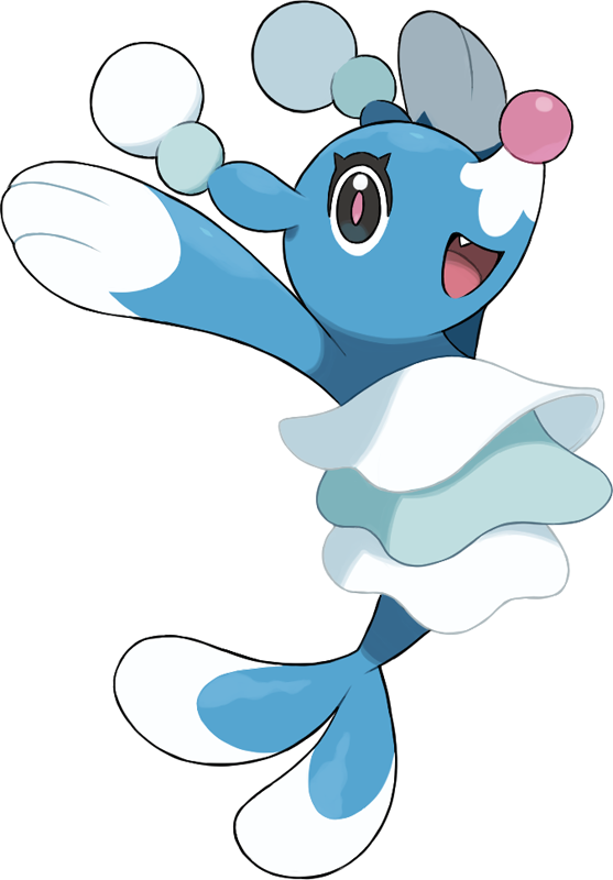 Pokédex Entry For 729 Brionne Containing Stats Moves Learned