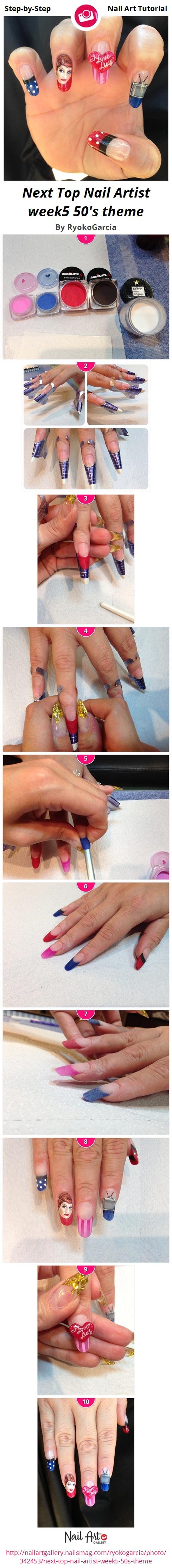 Next Top Nail Artist week8 Femme Fatale by RyokoGarcia - Nail Art ...