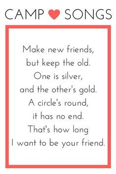 Girl Scout Friendship Song : scout, friendship, Image, Result, Friends, Lyrics, Scout, Songs,, Activities,, Troop