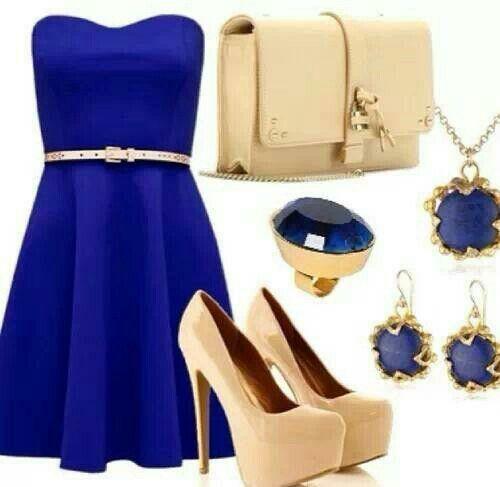 8a05d790ba Vestido azul