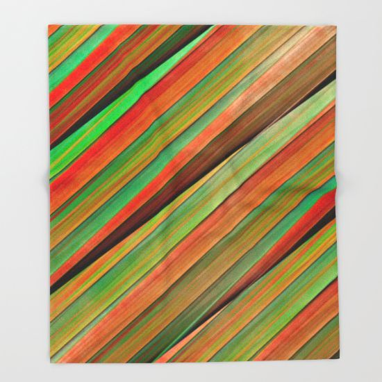 Buy Colored stripes background no. 2 by Christine baessler as a high quality Throw Blanket. Worldwide shipping available at Society6.com. Just one of millions of products available.