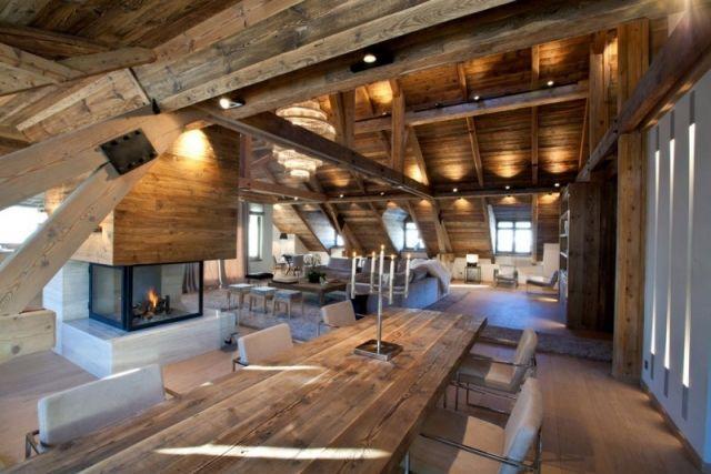 Moderne Wohnung Mit Offenes Konzept Design Eklektisch