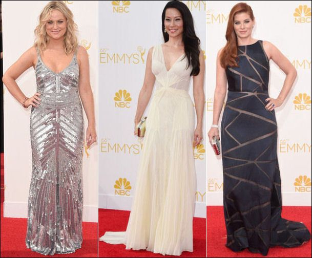 Emmys 2014 Red Carpet Dresses Fashion Sleeveless - pictures, photos, images