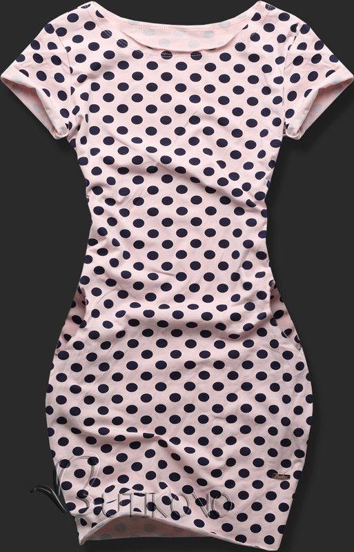 Púdrové šaty 9252