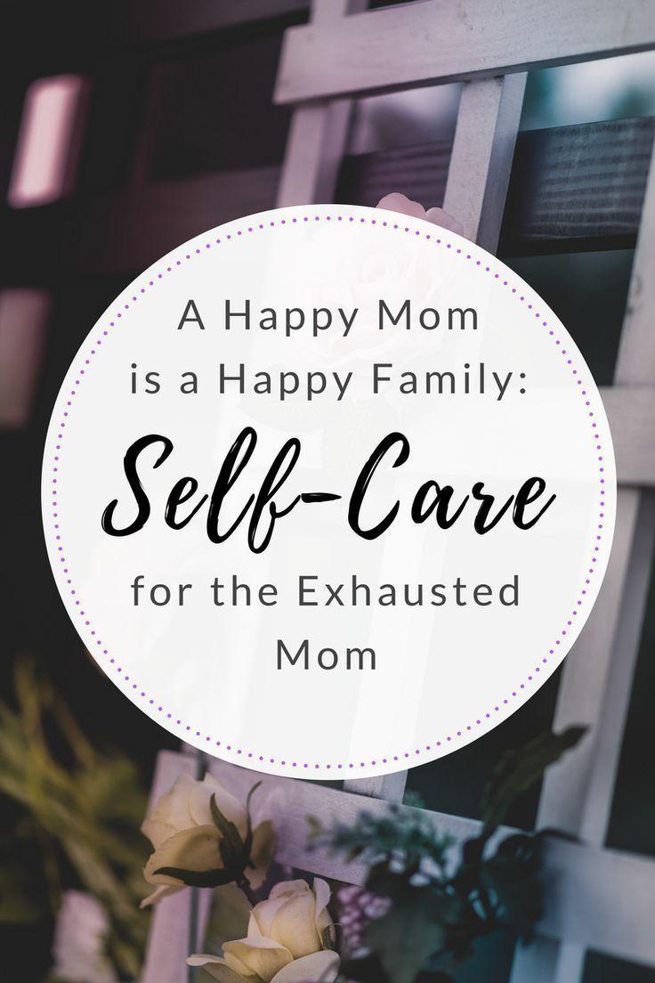 提示信息 Happy mom, Exhausted mom, Self care