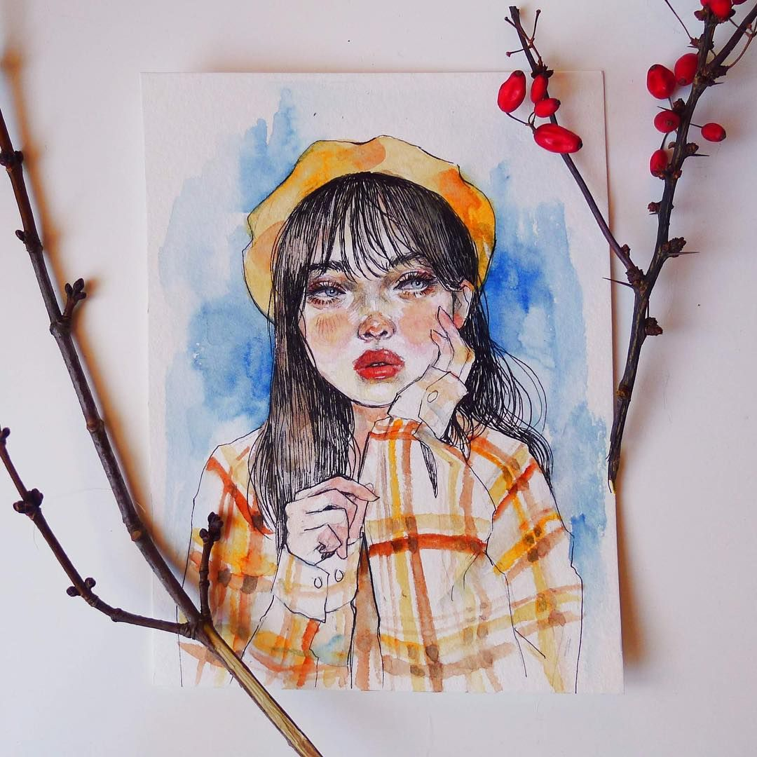 Pinterest Itskiraababe A R T In 2019 Watercolor Art