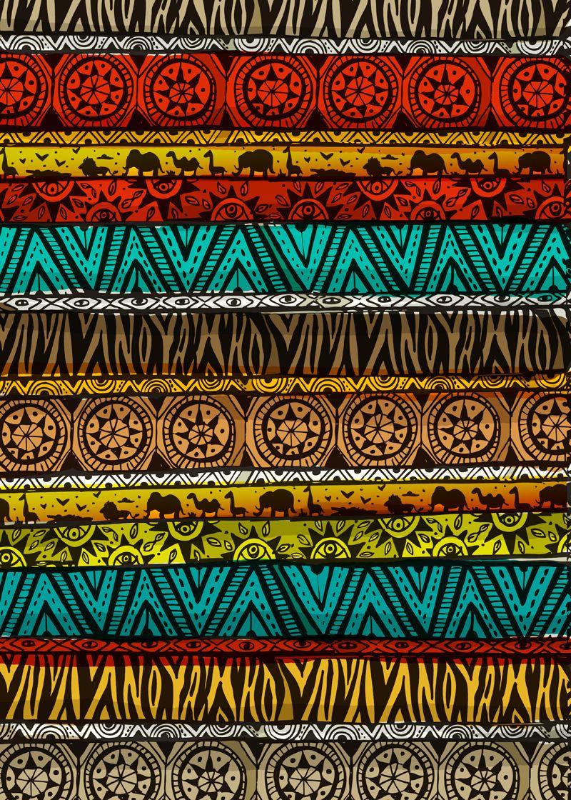 Estampas! | AFRICAN - ÍCONES | REFERÊNCIAS | Pinterest ...