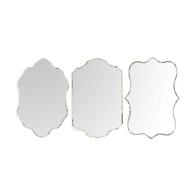 Lot De 3 Miroirs Venitiens Verre Decoupe Miroirs Venitiens Miroir Verre