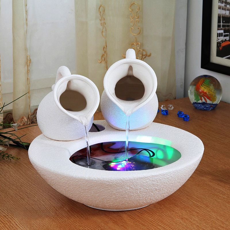 Moderno minimalista adornos de cer mica fuentes de agua for Adornos para el hogar
