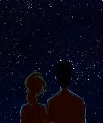 You, me, the stars ... No , think about it ;)