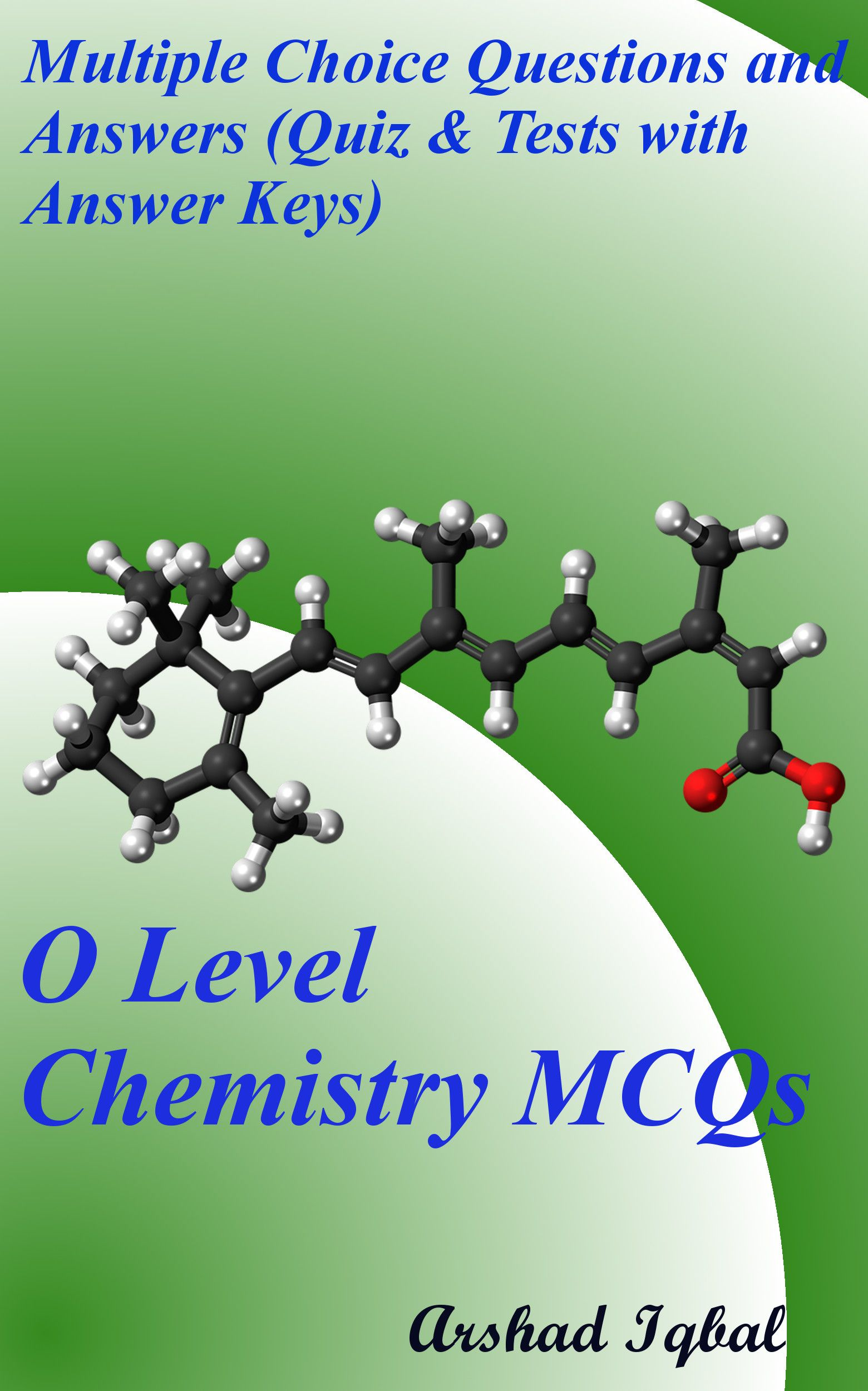 O Level Chemistry Mcqs Has 900 Multiple Choice Questions