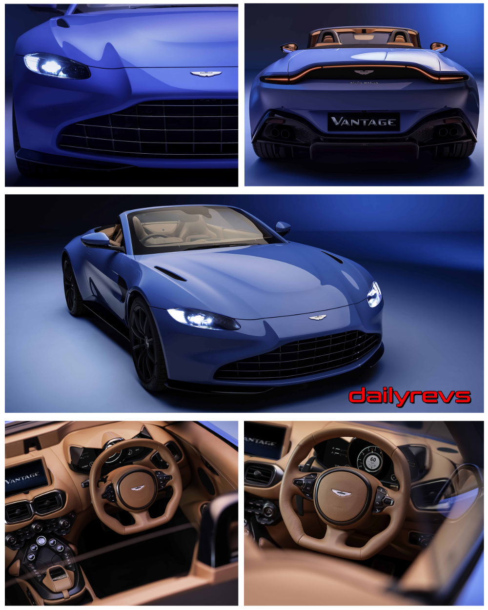 2021 Aston Martin Vantage Roadster HD Pictures, Videos