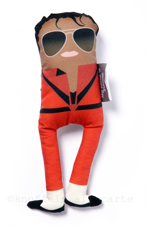 Mister Pop - Michael Jackson plushie