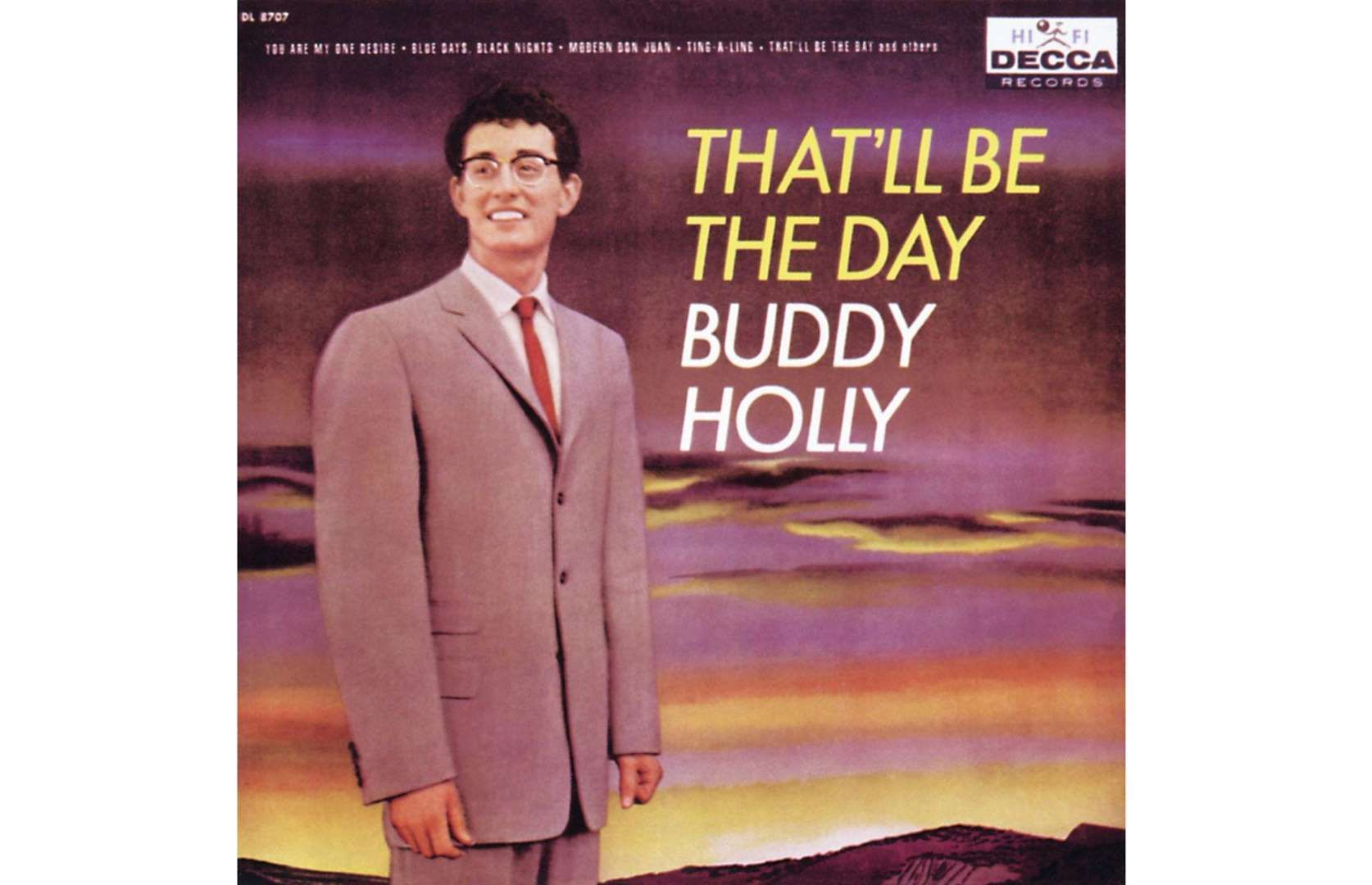 The Original 1958 Pressing Of Buddy Holly S That Ll Be The Day Album Released By Decca Records A Ye Decca Vinyl Records Valuable Vinyl Records Records