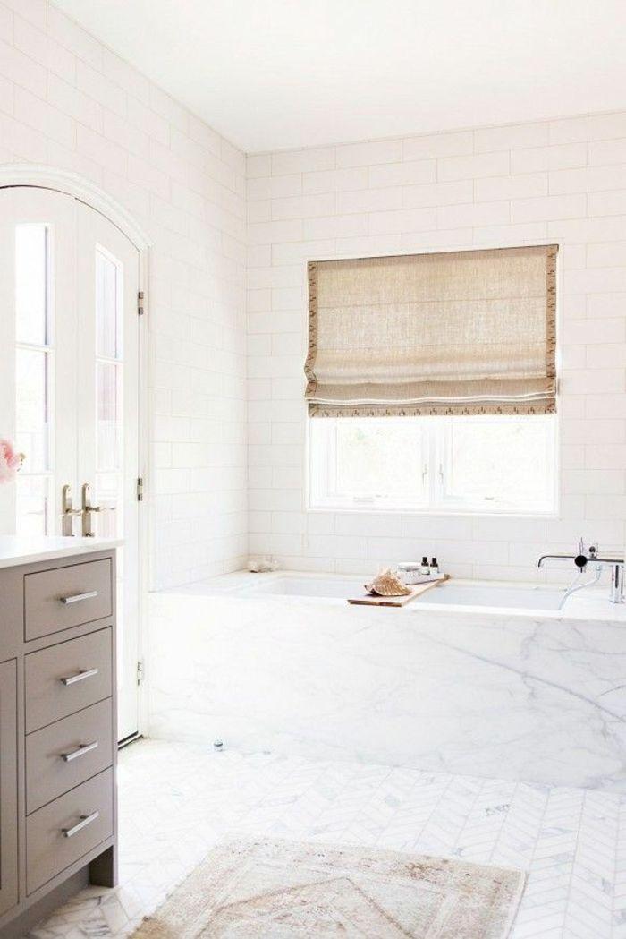 Beaucoup d\u0027idées en photos pour la salle de bain en marbre