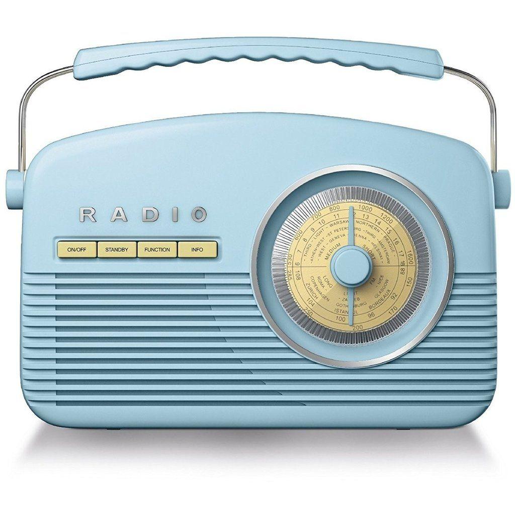 classic 1950 39 s design retro dab radio auto scan with lcd backlight display alarm clock radio. Black Bedroom Furniture Sets. Home Design Ideas
