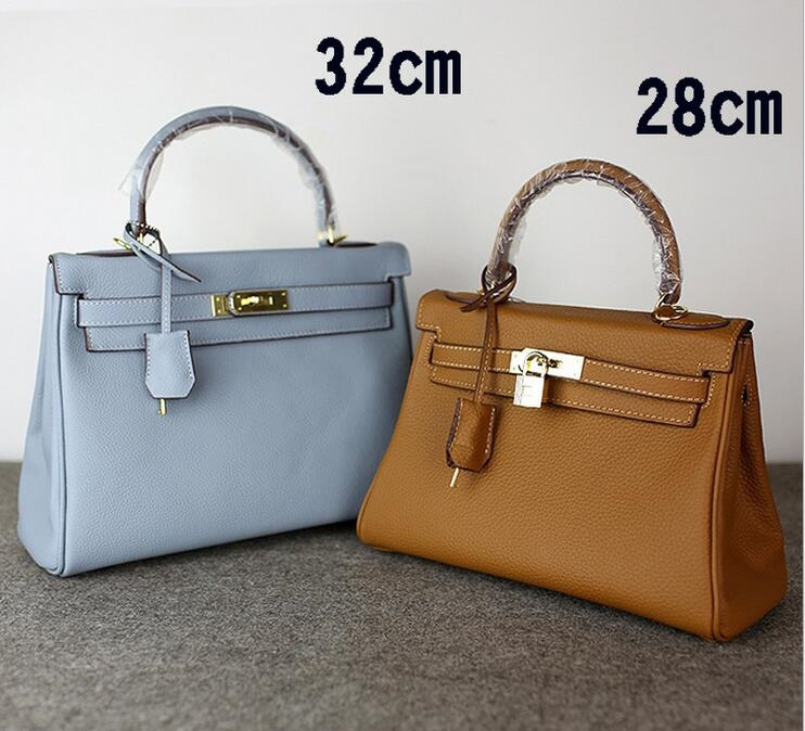 62.90$  Watch now - http://ai5t0.worlditems.win/all/product.php?id=32613202241 - high quality Fashion Genuine leather ladies brand double zipper bag Famous Designers tote shoulder bag women handbags female