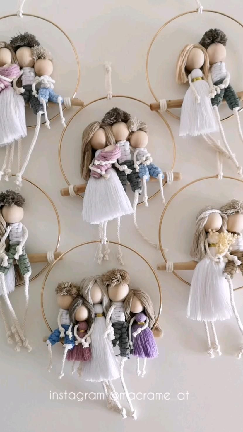 macrame families gift idea for your beloved