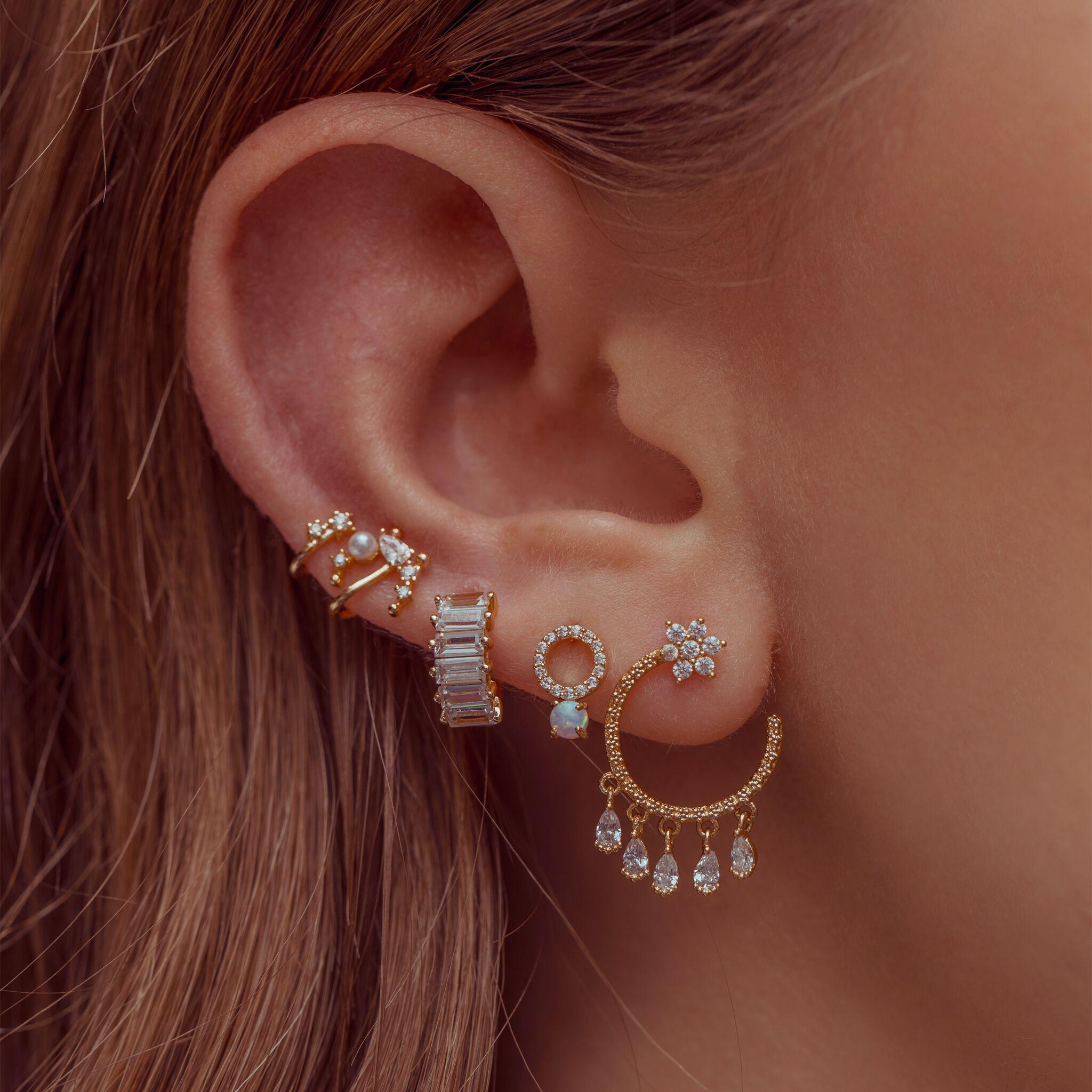 Ring Pop Opal Studs : Gold – girlscrew