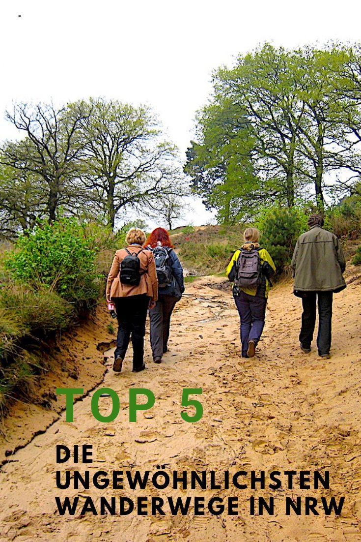 TOP 5 – die ungewöhnlichsten Wanderwege in NRW