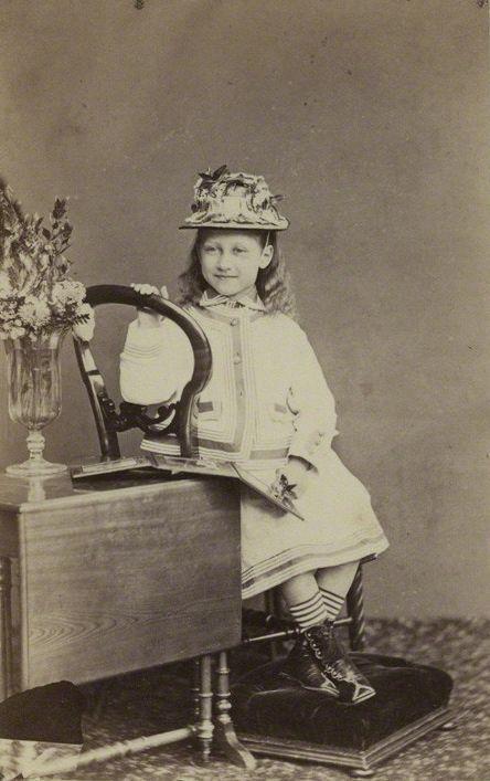 Princess Louise, Duchess of Fife, ca. 1873.
