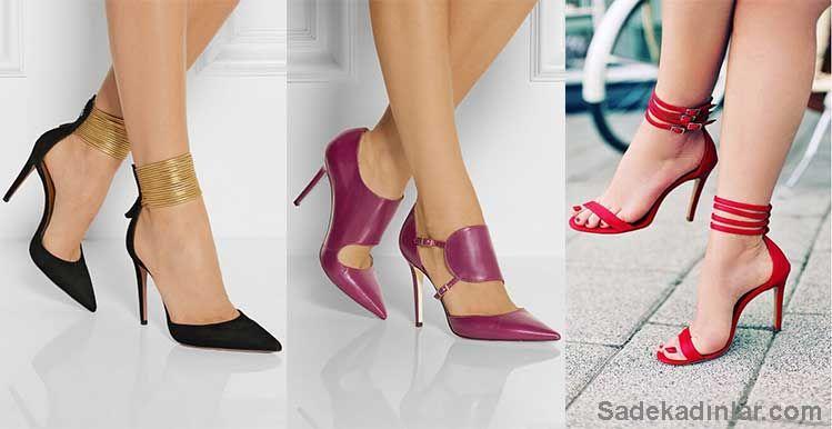 Stiletto Ayakkabı Modelleri İle Gözler Üzerinizde Olacak!