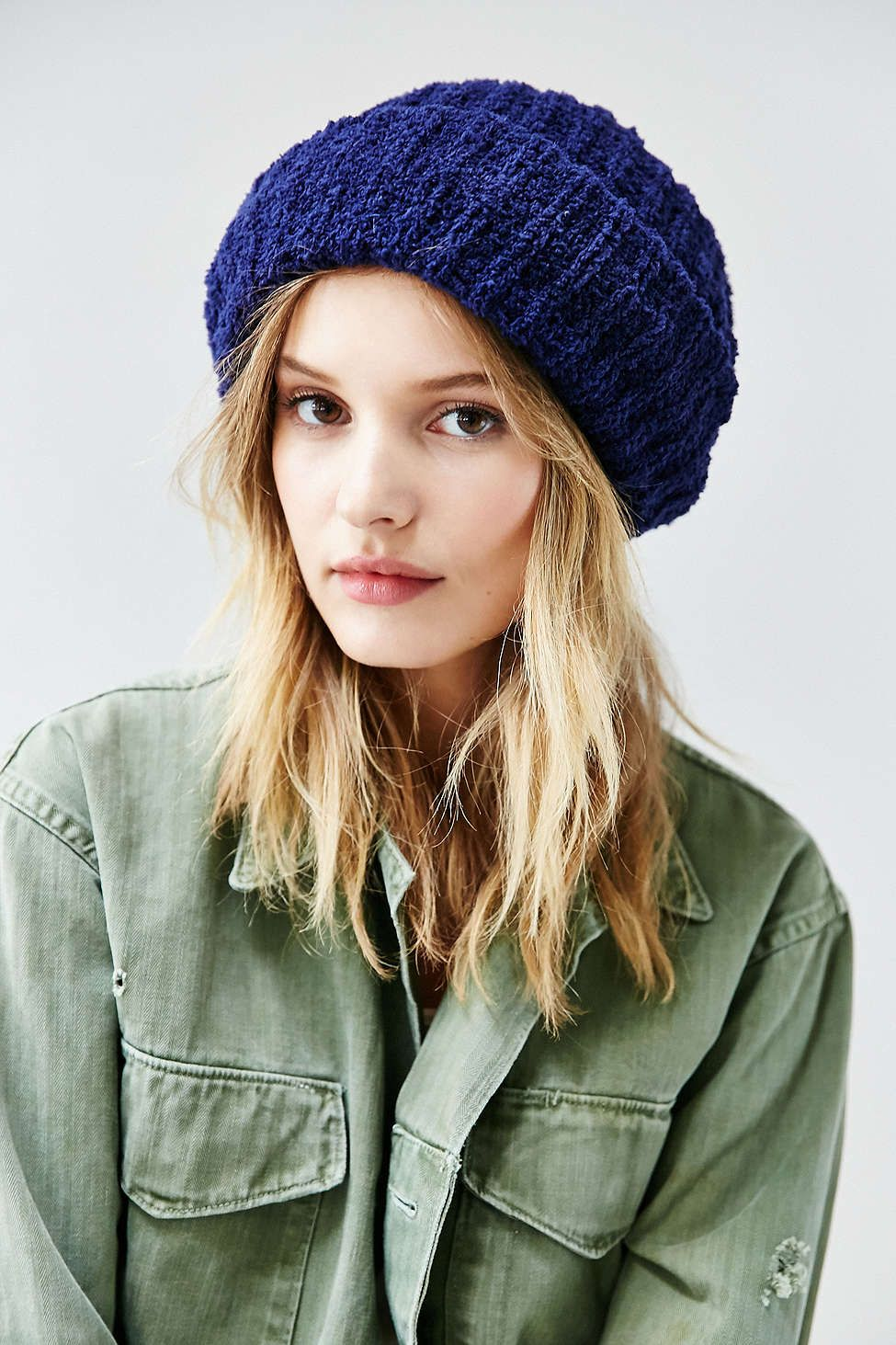 6b4af1f63c4 Chenille Rib Beanie - Urban Outfitters