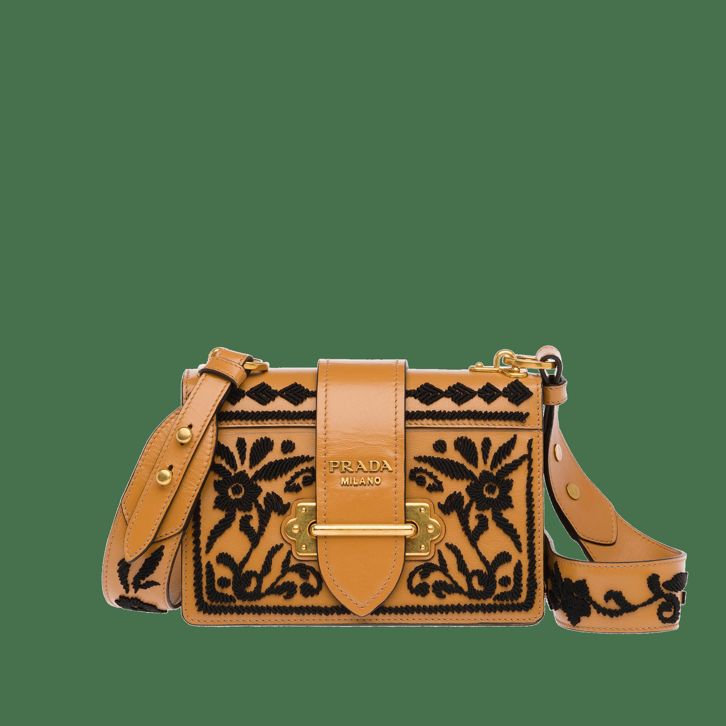 602e658fb4 Wicker and leather shoulder bag | B A G S | Bags, Prada cahier bag ...