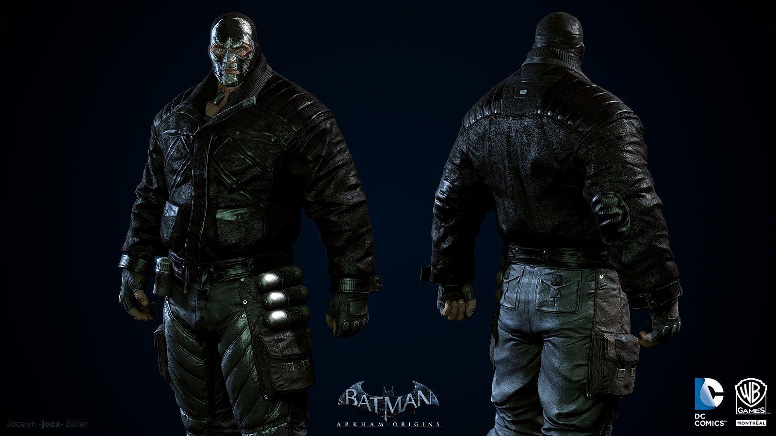 Batman Arkham Origins: Blackgate- Bane(Coat) Minecraft Skin