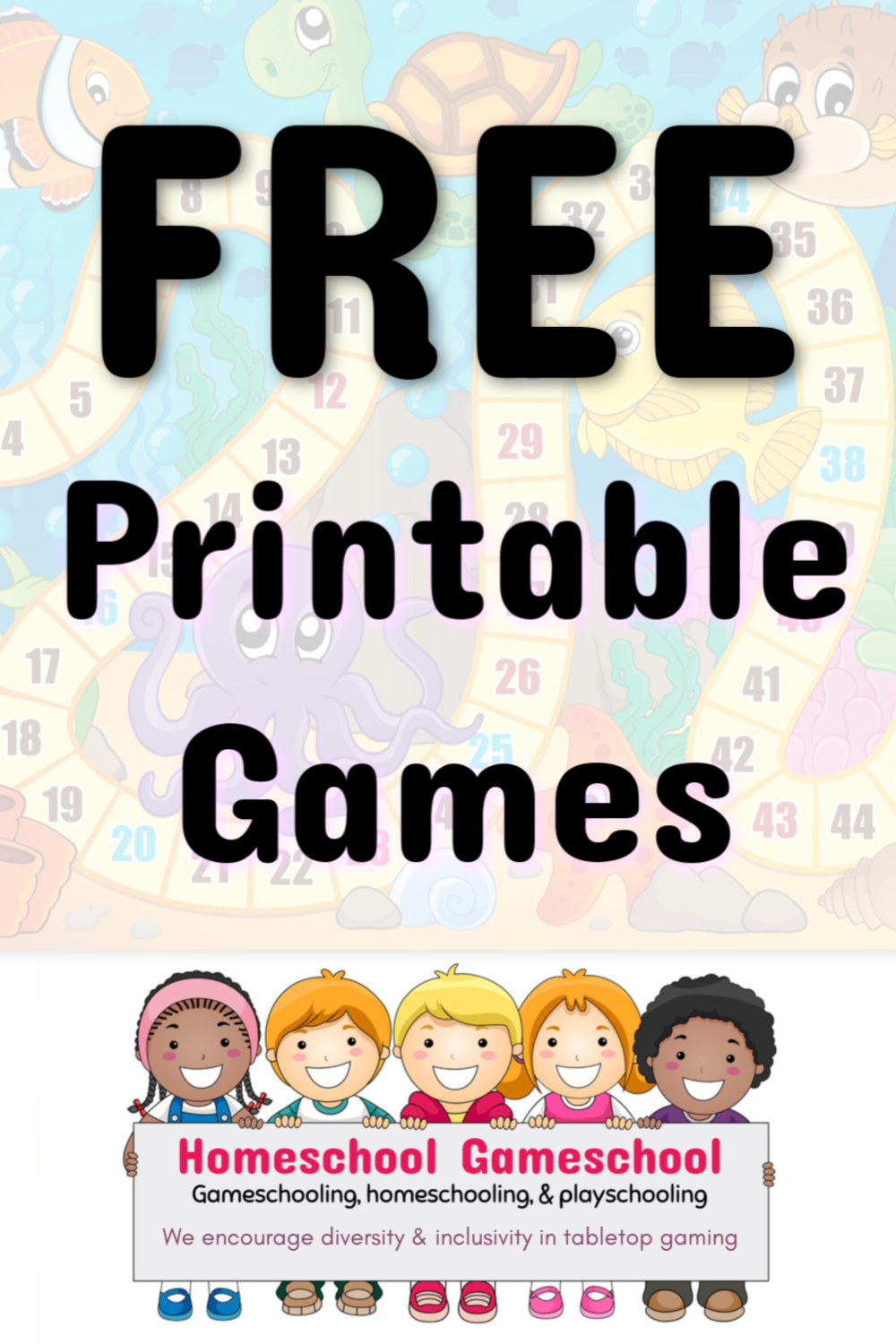 Big List of FREE Printable Board Games