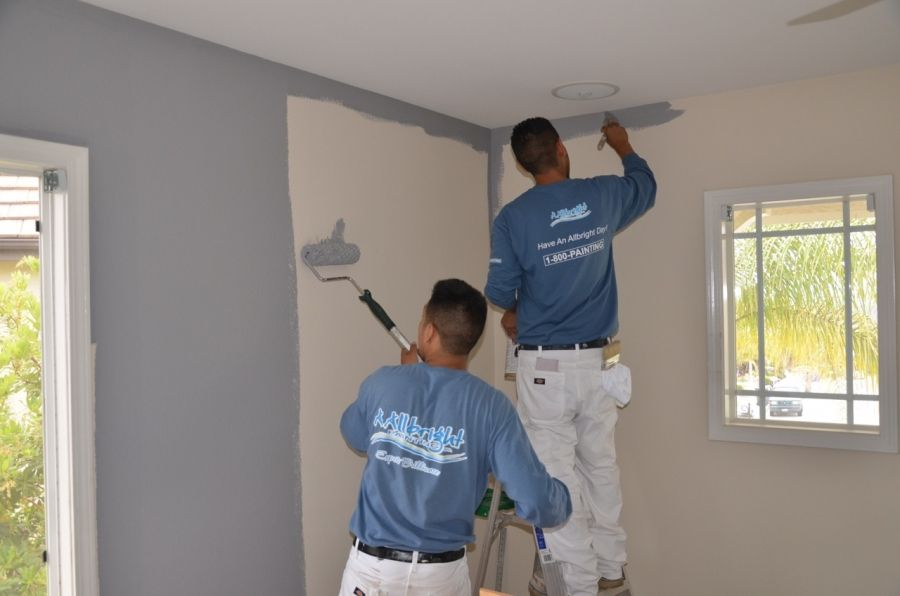 What Does It Cost To Paint The Inside Of My Home In Los Angeles Area Allbright 1 800 Painting House Painting Cost Los Angeles Homes House Paint Interior