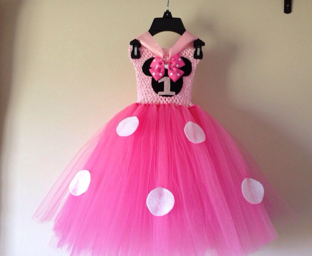 1. Geburtstag inspirierte Minnie Maus Tutu Kleid und passende ...