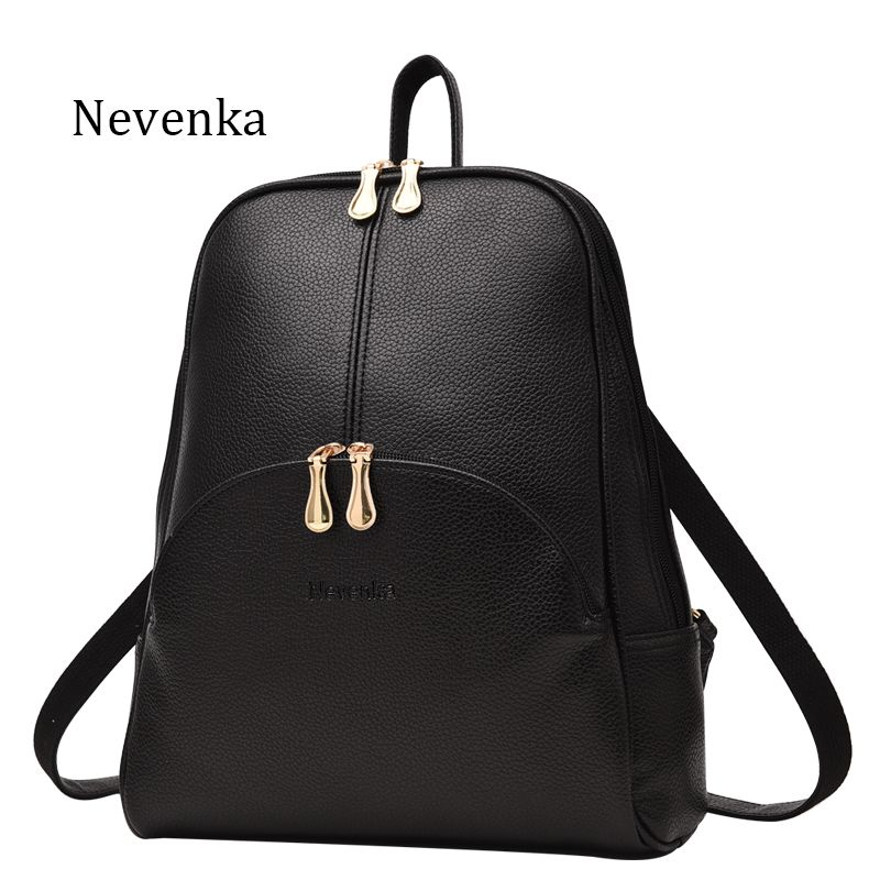 8512aed4449 New Style Of Women's PU Leather Backpack in 2019 | Women Bags ...