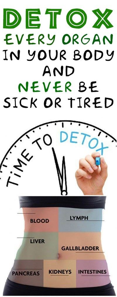 How To Detox Every Organ In Your Body & Never Be Sick Or Tired!!!  #wieght_loss  #fitness