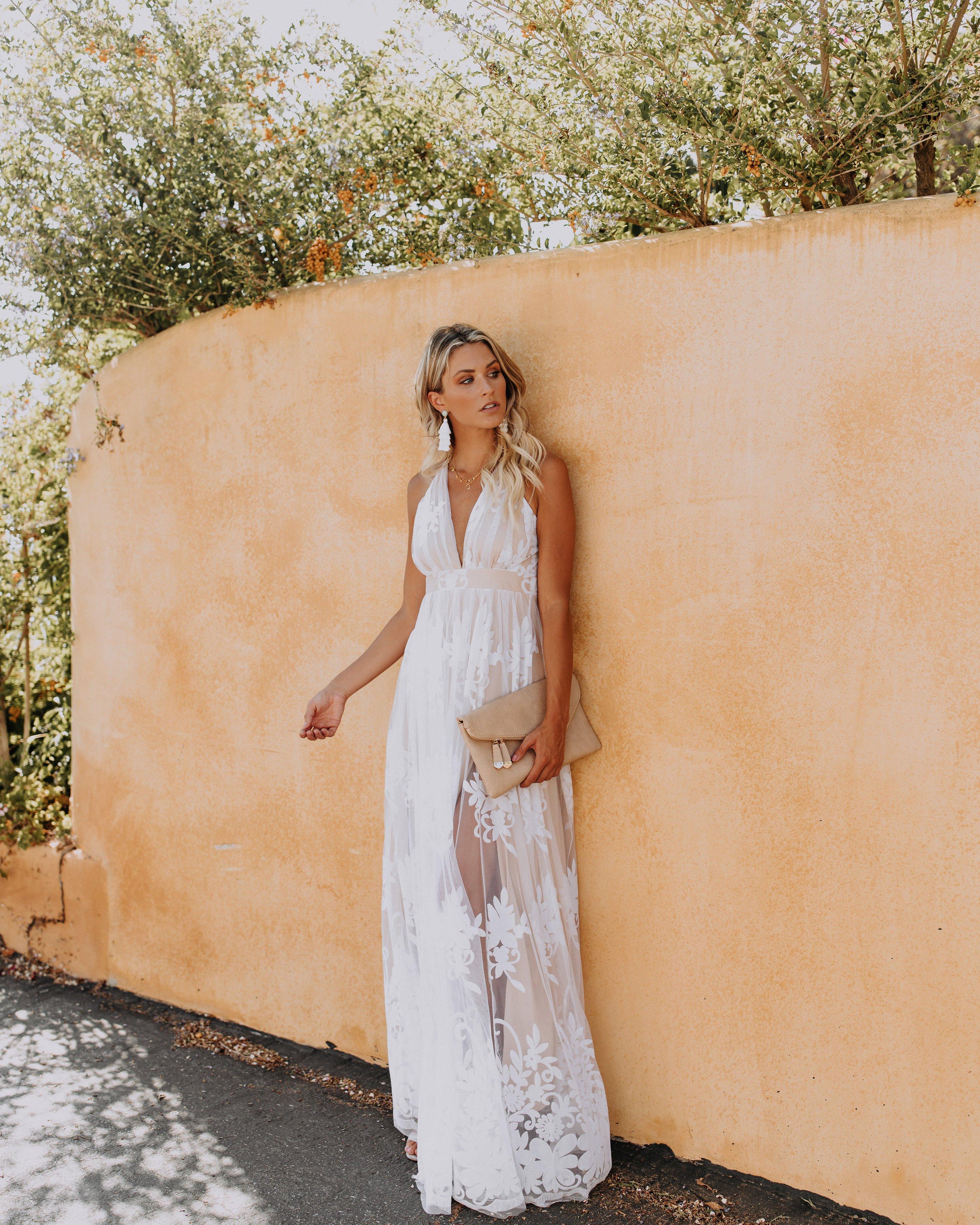 Antonia Maxi Dress White White Rehearsal Dinner Dress Rehearsal Dinner Dresses Bride Reception Dresses [ 3600 x 2880 Pixel ]