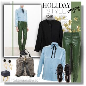 Holiday Style: Leather Pants