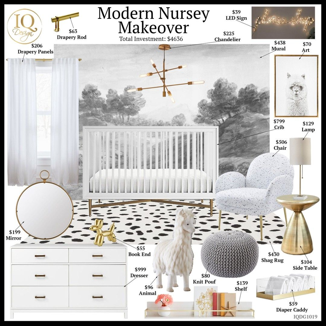 There Are So Many Wallpaper Options These Days From Murals Like This One To L Modern Nursery Room Kids Bedroom Ideas For Girls Toddler Kids Bedroom Lights