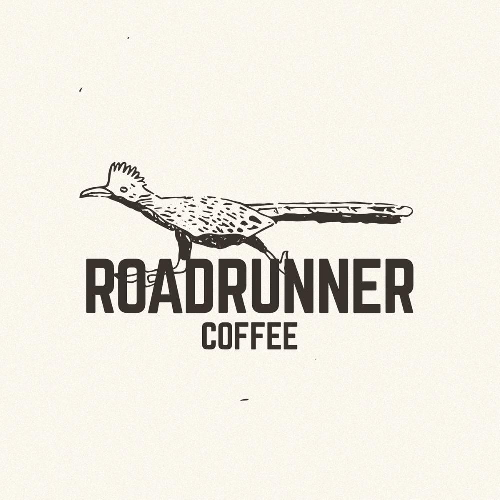 Roadrunner Coffee Logo On Behance Coffee Logo Logos Road Runner