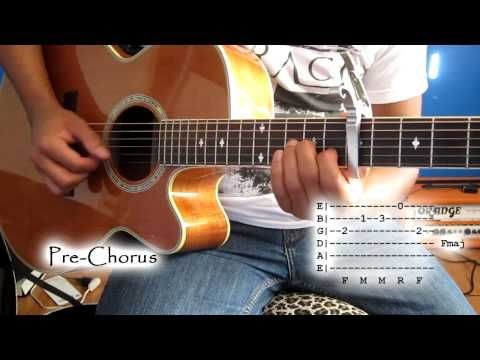 Capo 7th Fret) Safe and Sound by Taylor Swift Tutorial | music ...