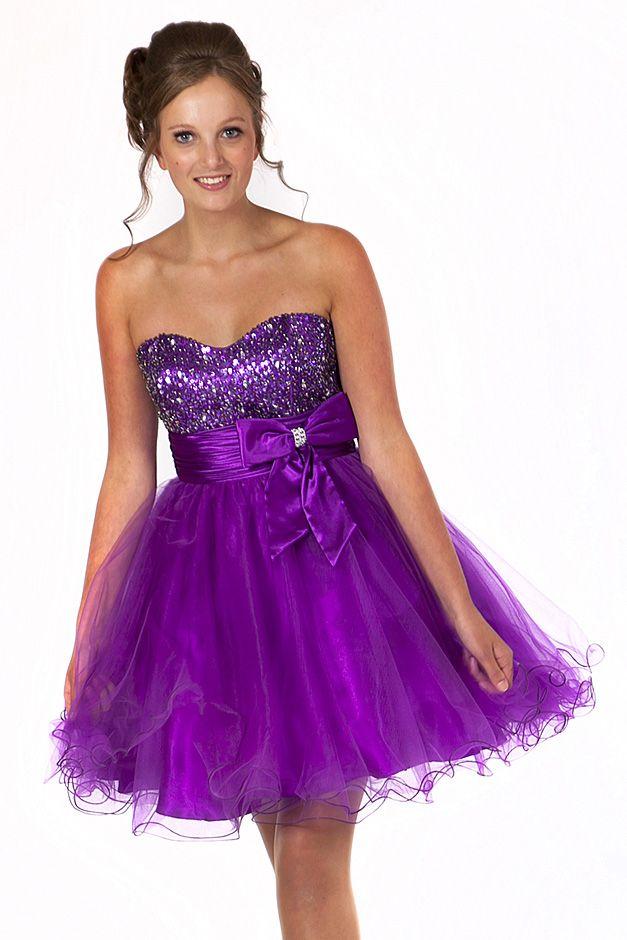 Corset Short Prom Dress