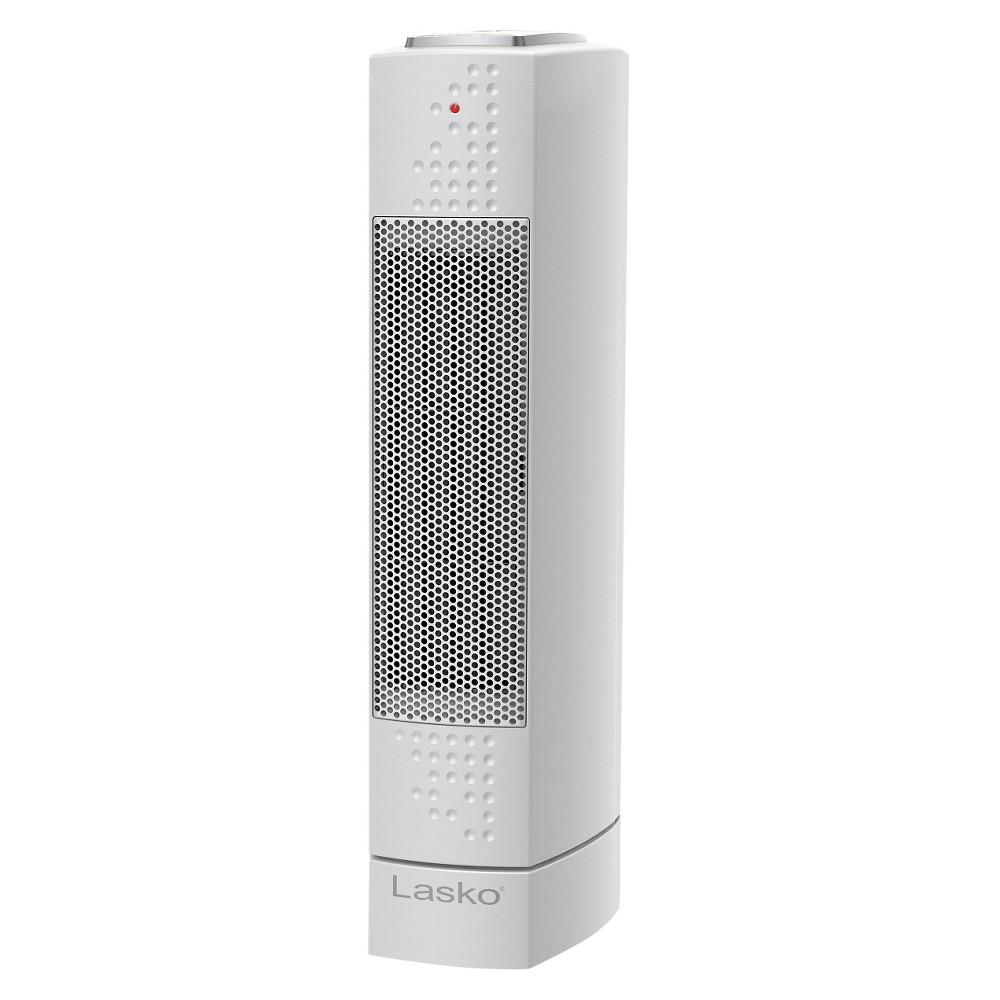Lasko Ceramic Desktop Indoor Heater White 1500w Ct14102 Tower Heater Tower Ceramics Ceramics