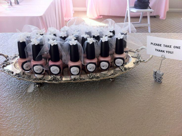 opi bridal shower favors on black bridal bliss Bridal shower