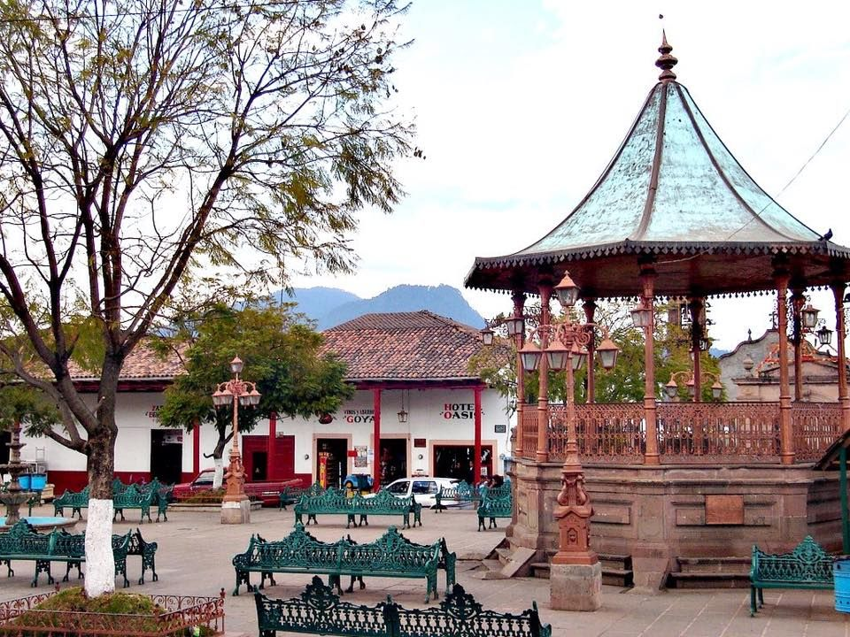 Vestigio del Siglo XVIII: Kiosco de Santa Clara del Cobre en ...